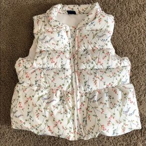 Girls puffy vest 3T